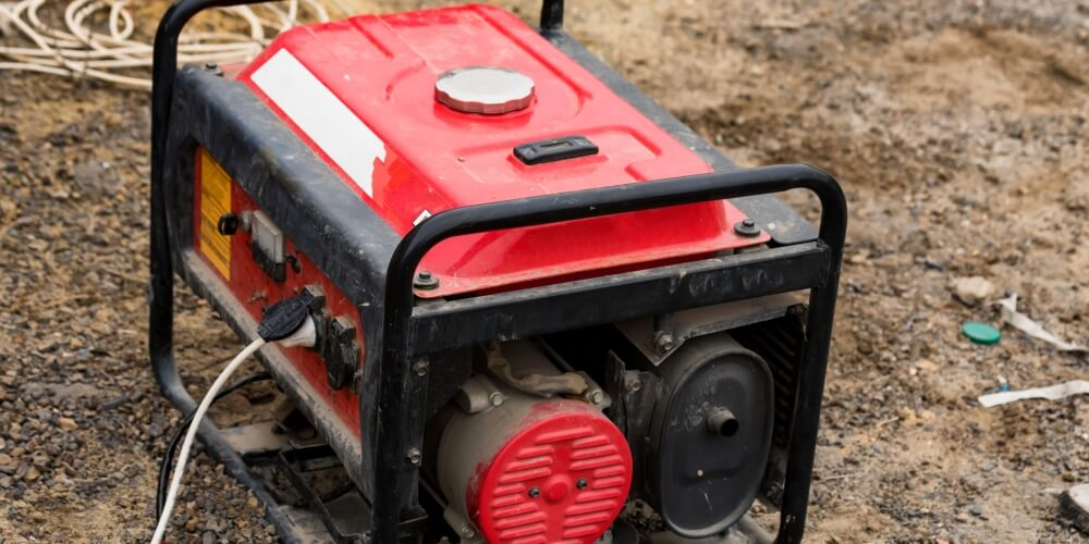 A Red Motor Generator