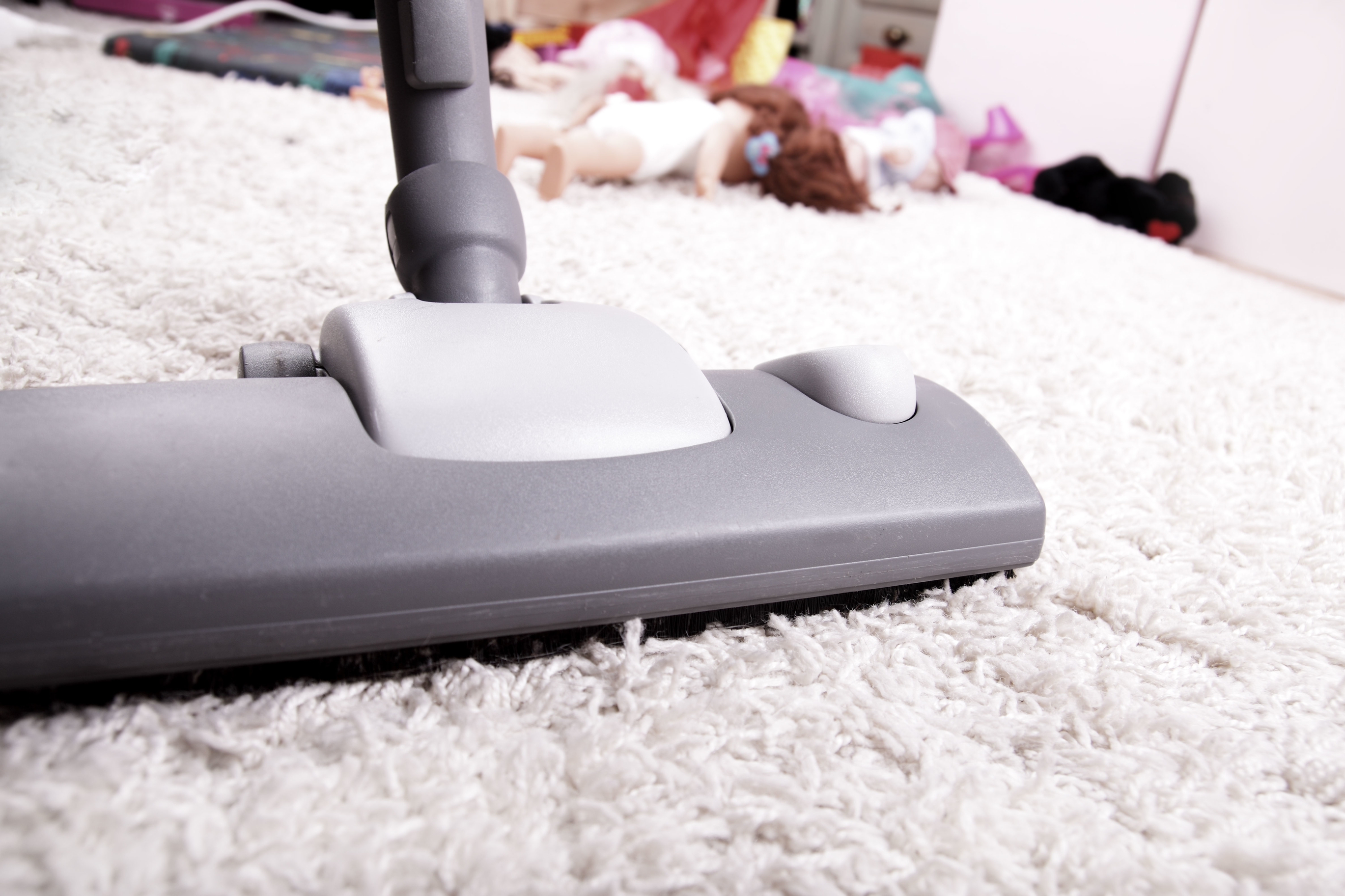 Photo of vacuum cleaner close up