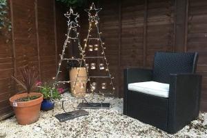 Outdoor Steel Christmas Tree