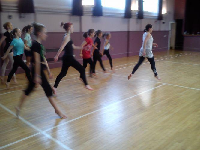 2014 Contemporary dance workshop