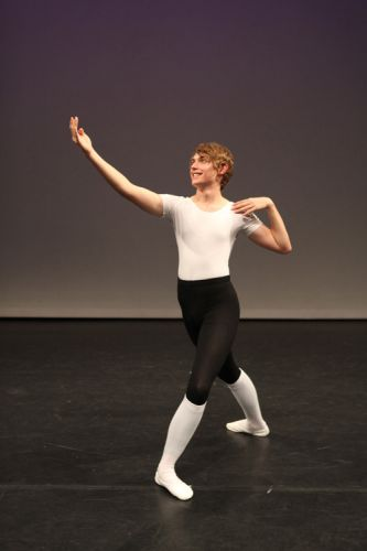 Dancer Callum Green, CCBA2013