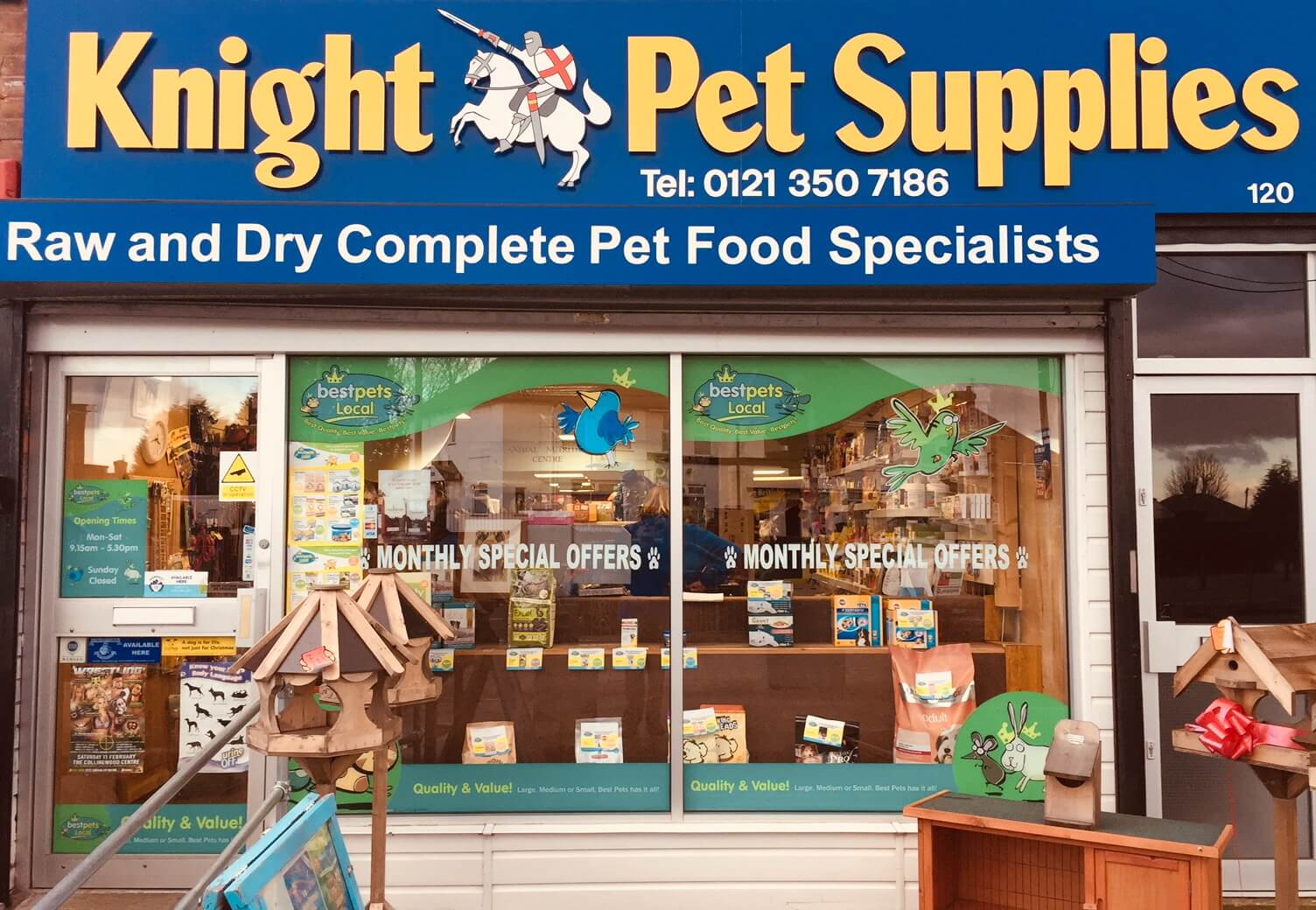 Image of Knight Pet Supplies' Shop Front