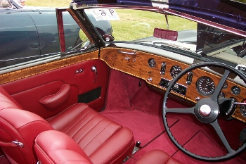 Image of vehicle wood trim