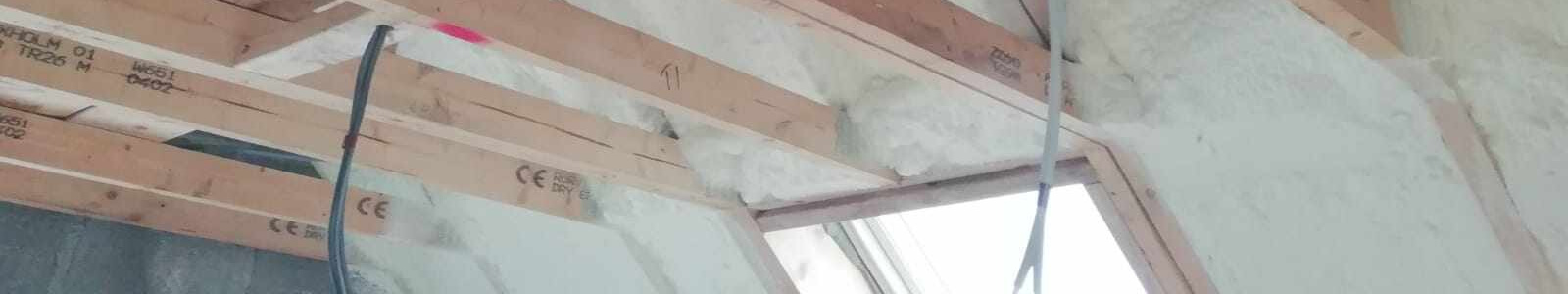 Timber Frame Insulation Ireland, Professional Spray Foam Insulation