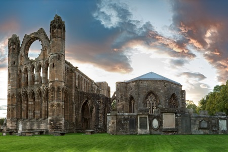 View of Elgin Cathedral