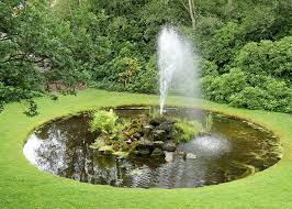 Custom water feature crafted for homeowner's garden