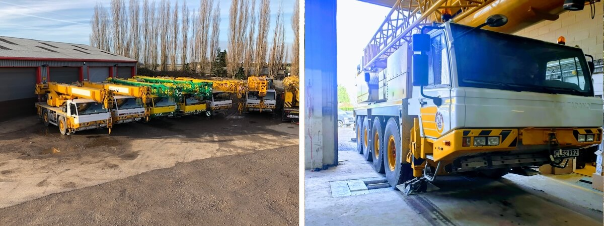 New Mobile Crane Stock