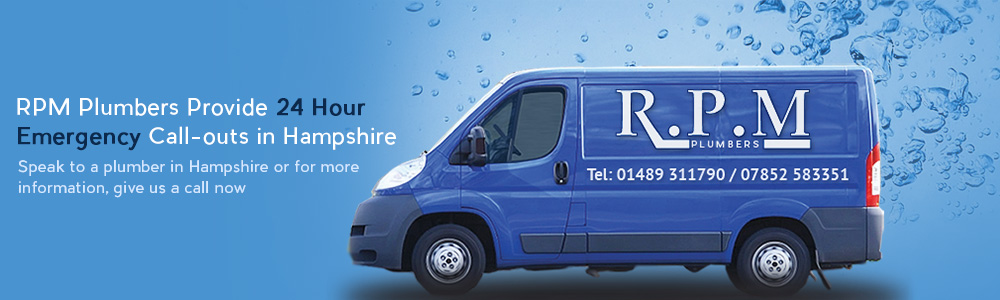 24hr Emergency Plumber Hampshire