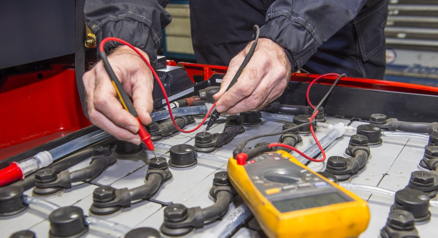 Forklift Truck Batteries & Chargers