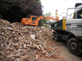 Demolition Services North Wales