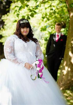 Plus sized bridal wear, guide price £1100