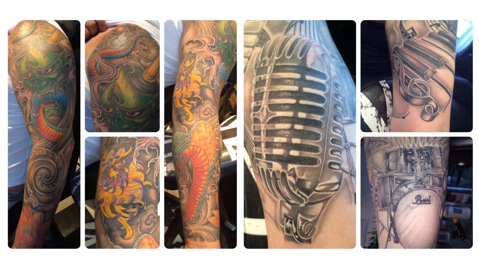 Experienced Tattoo Artists Rotherham