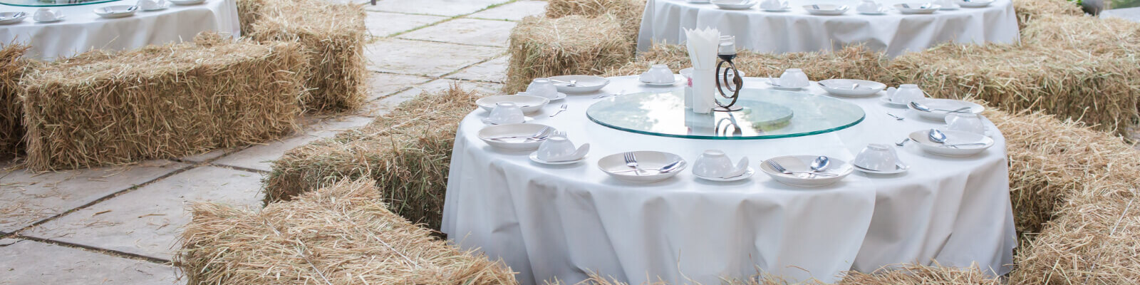 Straw Party Bales
