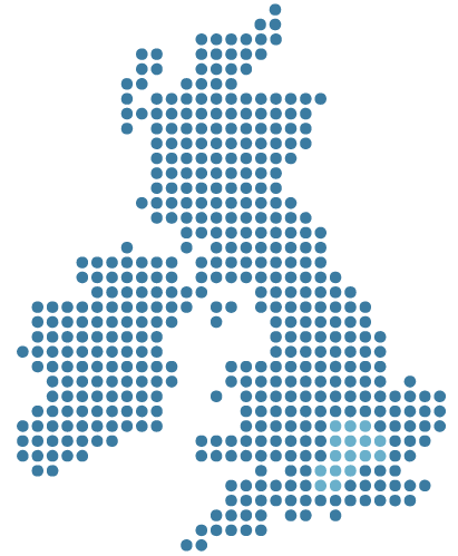 UK Coverage Map
