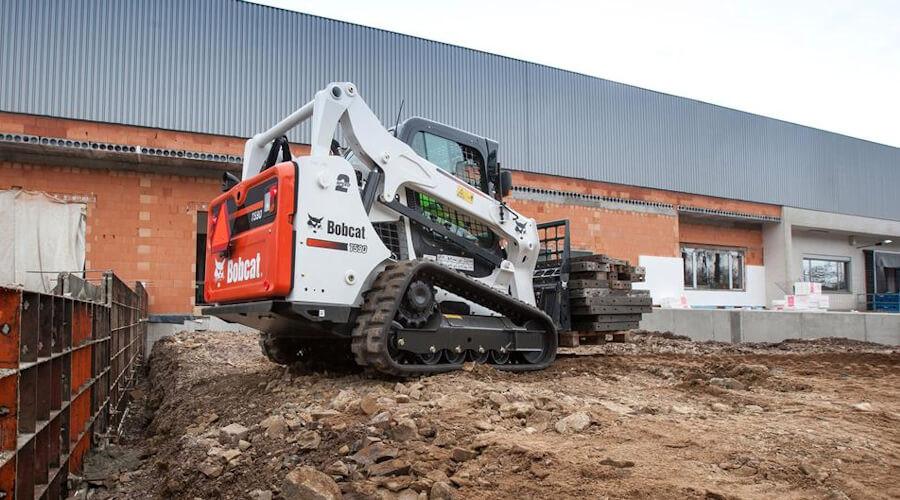 Bobcat and JCB Tracked Loaders