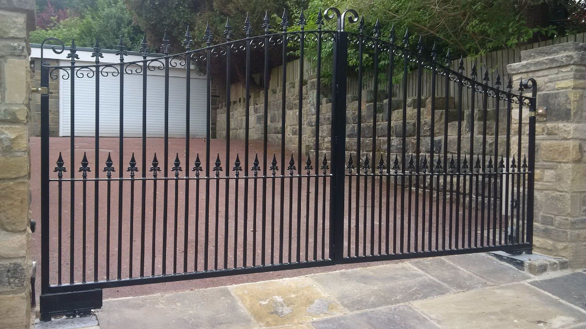 Powered Gates In Yorkshire Ase Autogates