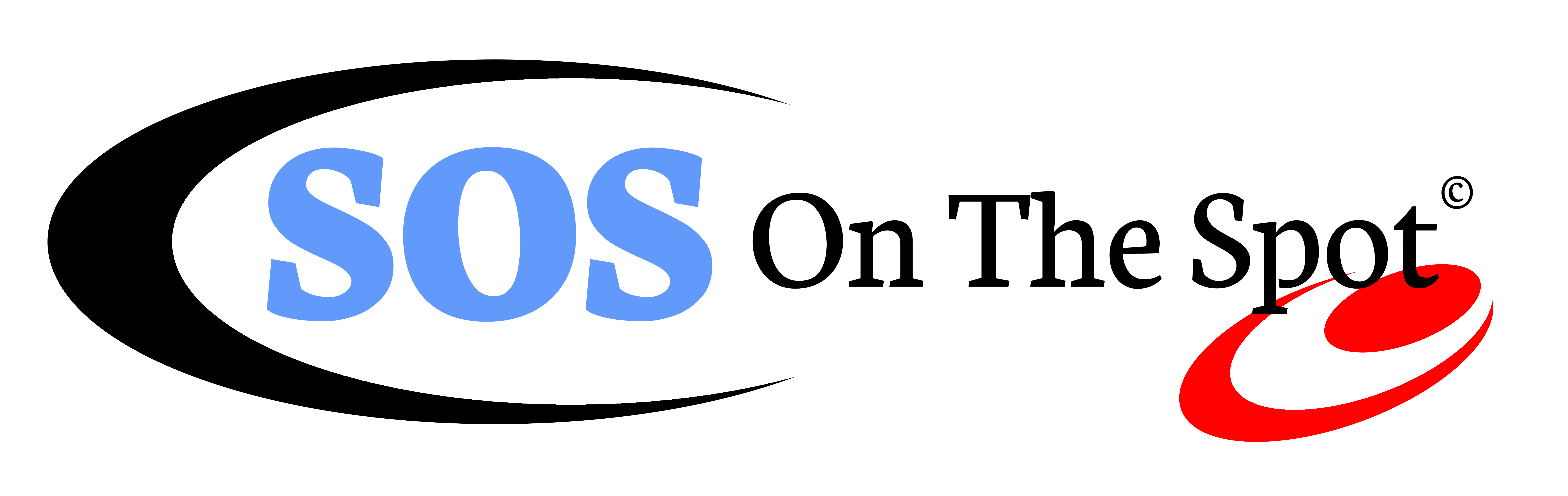 SOS On The Spot Logo