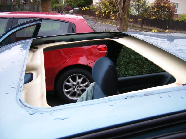 Renault Clio Sunroof Repair - South West Sunroofs Ltd