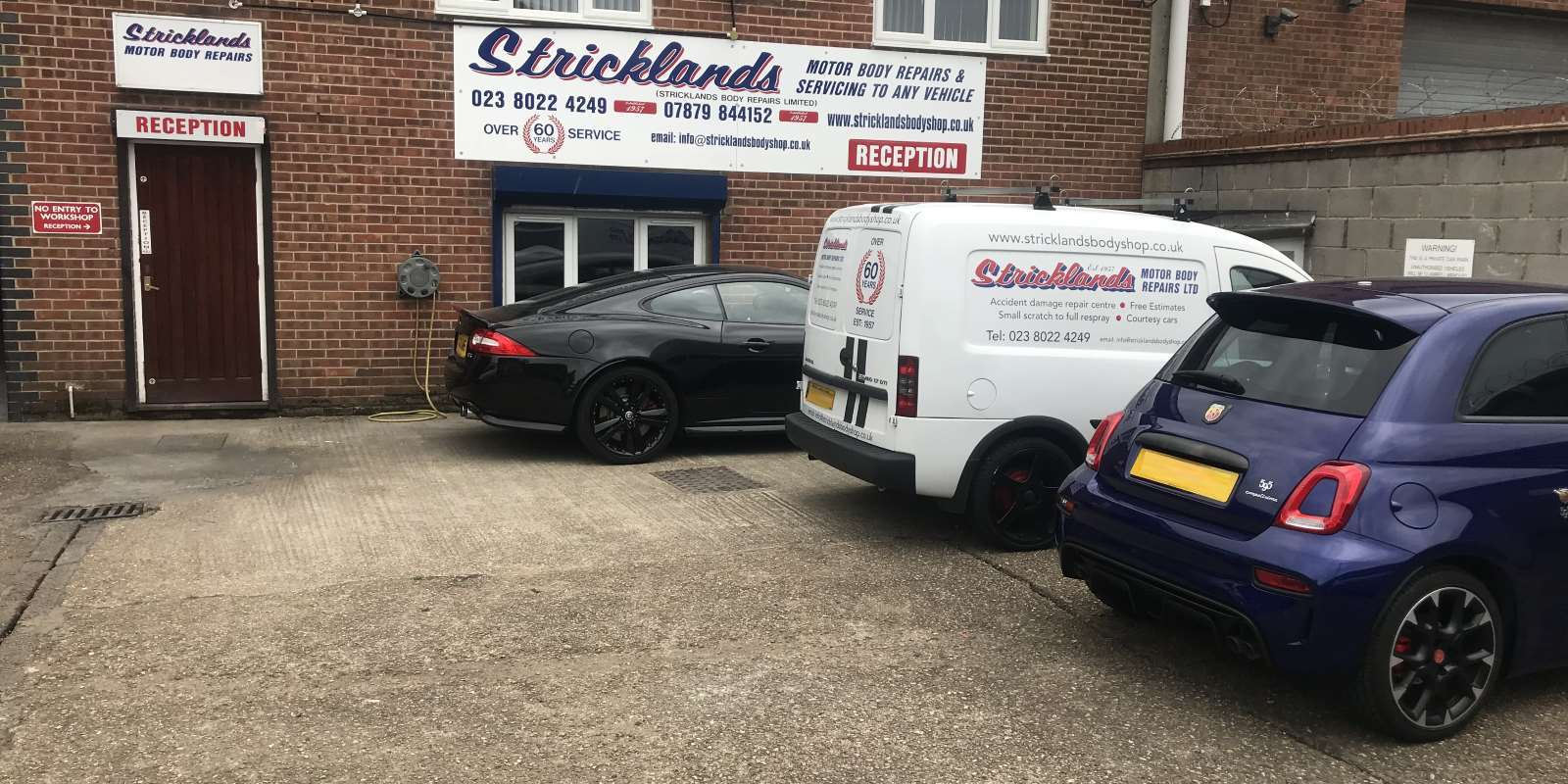 Stricklands Body Repairs