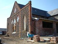 Exterior of church build