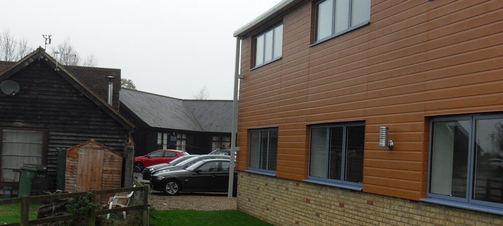 Barn Conversion to Offices & Associated Works - near Soulbury Bucks 2