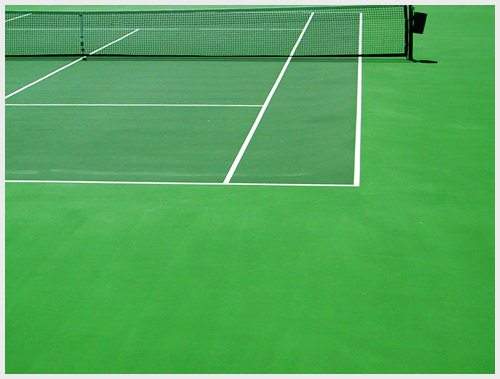 Tennis Net Installation