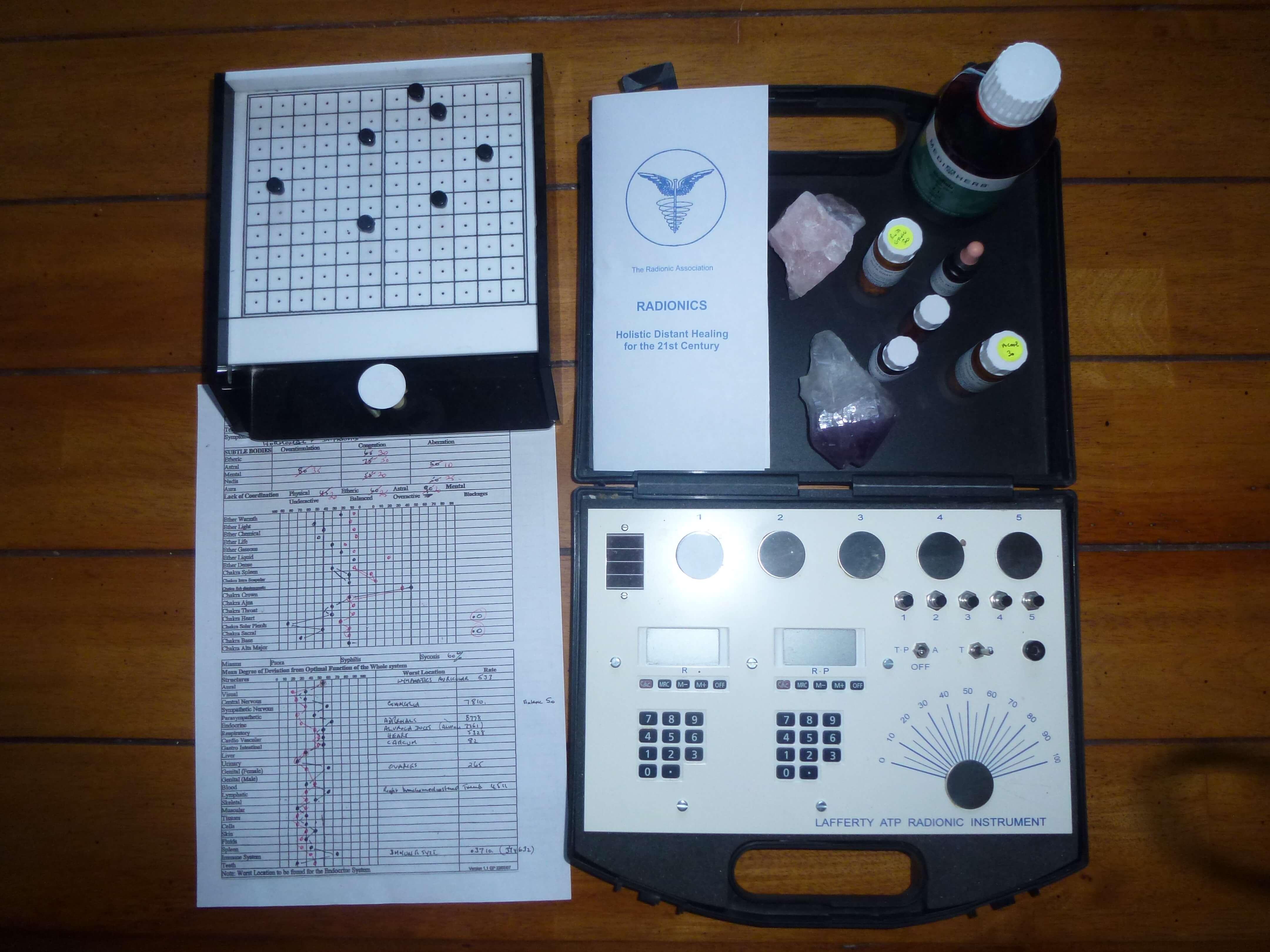 Radionics Instrument