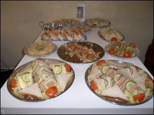 Delicious Buffet Catering Cwmbran Tjs Catering