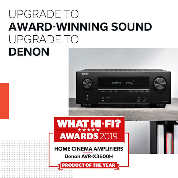 What Hi-Fi Awards 2019 Home Cinema Amplifiers