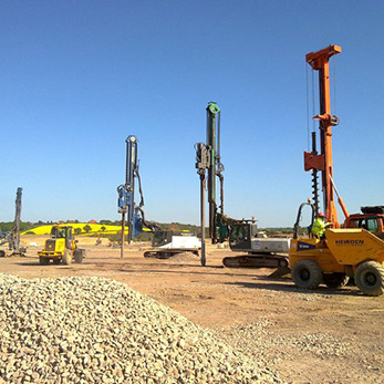 Dry Top Feed Vibro Stone Columns