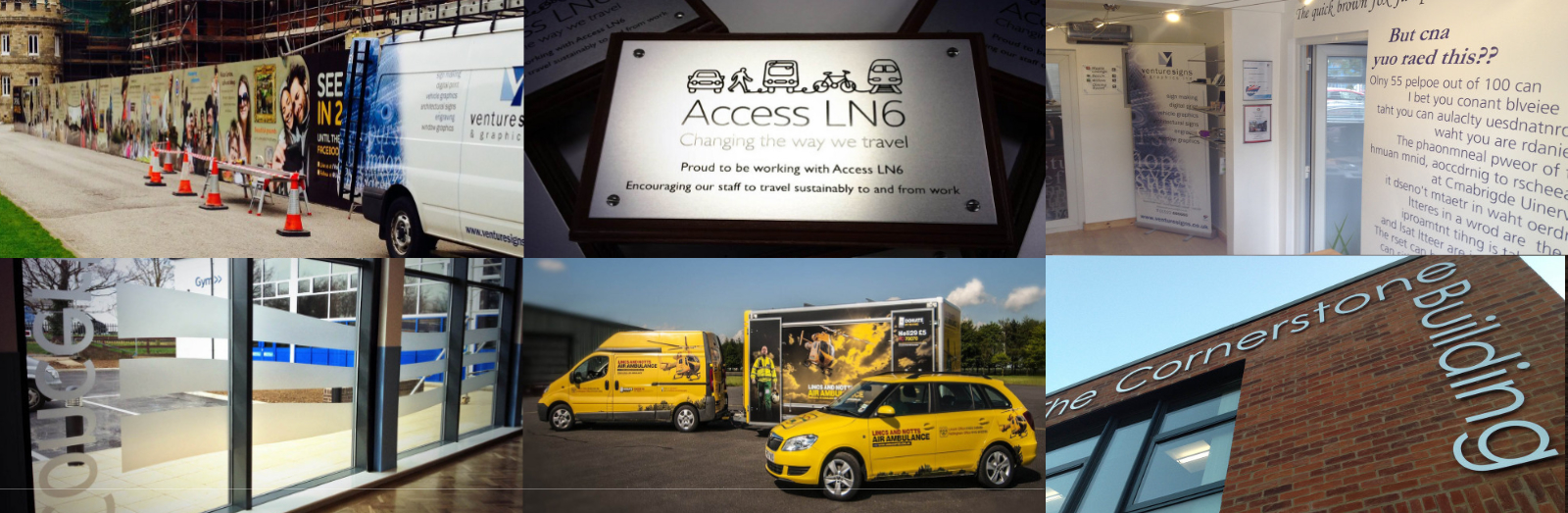 Signage & Graphics in Lincolnshire