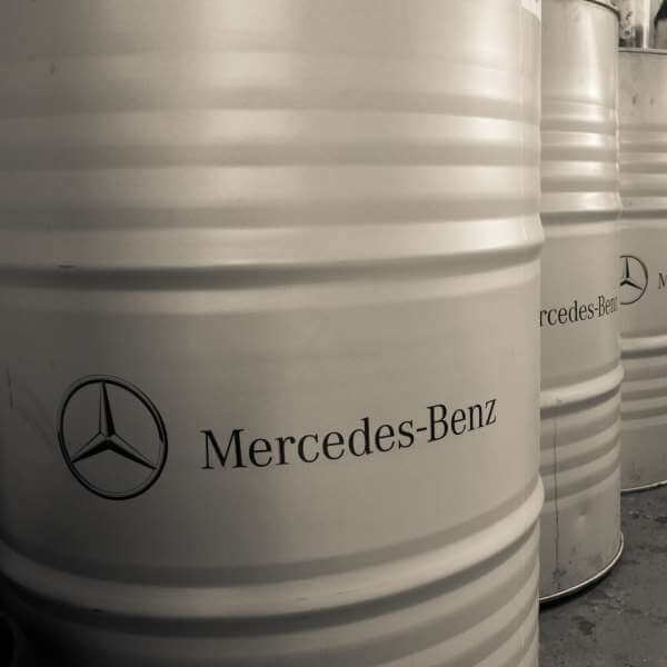 Mercedes-Benz drums