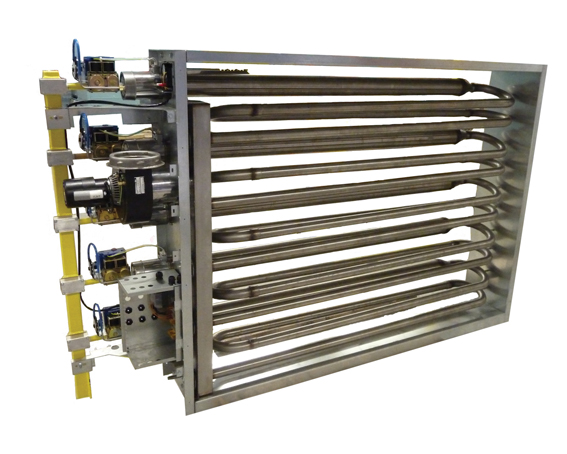 An industrial heating system