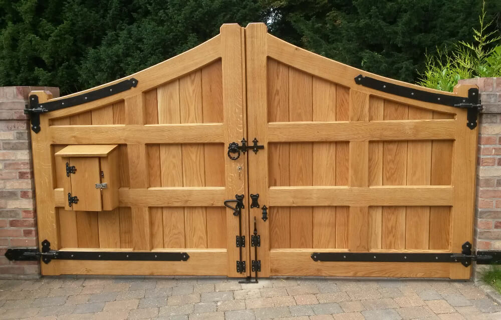 Handcrafted Wooden Gates