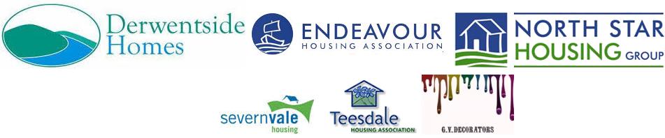 Housing associations' logos